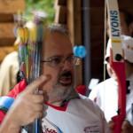Flèches impatientes - Inauguration Jeu de Beursault - Ste Geneviève des bois