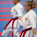 C.Boulanger (d)  & J.Hugues (g) - Championnat Monde KaratŽe 2012