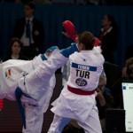Mawashi geri - A.Recchia - Championnat Monde KarateŽ 2012 - Paris