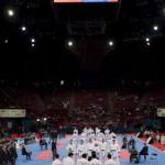 Ecran geŽant - Championnat Monde KaratŽe 2012  - Paris