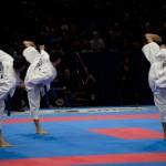 Yoko geri jodan - Equipe Italie kata - Finale Championnat Monde