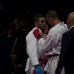 intimidation - Championnat Monde Karate - Paris