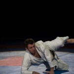 Dans le noir - karateŽka malvoyant -  Championnat Monde Karate 2012