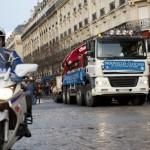 convoi de nouvelles cloches - Notre Dame - Paris