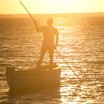 Pecheur d'or - Lever de soleil - Saint Francois - Rodrigues