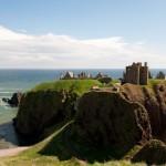 Ecrin du chateau fort -Dunottar Castle - Ecosse