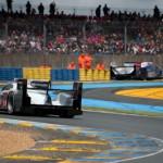 Devant derriere - Toyota et Audi - 24H du Mans