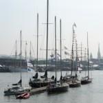 Fleches et mats des Pen Duick - Armada - Rouen