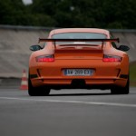 Feu orange - GT3 RS  - Porsche Montlhery Revival