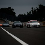 Ligne blanche - Porsche Montlhery Revival