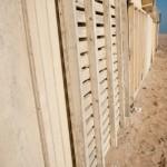 Lignes planches - Cabanes de plage - Ouistreham