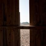 Horizon - Vue de cabane de plage - Ouistreham