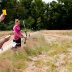Carton jaune - Championnat France Tir Campagne - Auvers St Georg