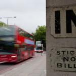 Defense d'afficher - Londres
