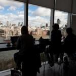 Clair obscur - City vue de la Tate modern - Londres