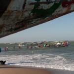 Les pirogues - Kafountine - Senegal