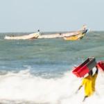 La vague - Kafountine - Senegal