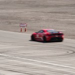 Repere freinage mobile  - Las vegas motor speedway - Nevada