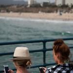 Smartphoning - Californie - Santa monica