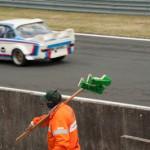 Voiture balais - Le Mans Classic