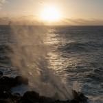 Le souffleur de la pointe au sel - St Leu - La Reunion