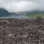 Figee ou presque - Coulees de lave - Sud Est La Reunion