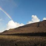 Le spectre du  Piton de la fournaise - La Réunion