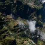 Cirque de Salazie - La Reunion vue du ciel