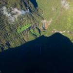 Trou de fer - Cirque de Salazie - La Reunion vue du ciel