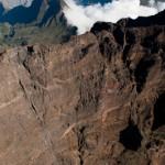 Le piton des neiges 3071 m - La Reunion vue du ciel