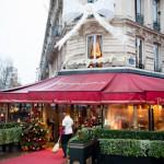 Tapis et pelle rouge au Fouquet's - Paris