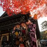 Jeunes femmes au Nanzenji - Japon