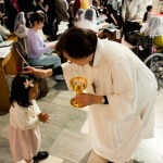 La langue - Eucharistie pascale -  Ste Marie Cathedrale - Tokyo