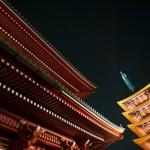 Rouge et or - Temple Senso ji - Tokyo