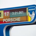 Porsche n°17 meilleur temps - Journee test Le Mans 24H auto
