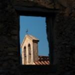 Fenetre azur du Monastere de  Preveli - Crete