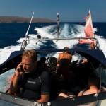 Georgios expert du grand bleu et maître à bord - Crete