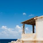 Nuances de bleu dans la baie d'Ombros gyalos - Crete