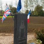 Stele commemorative - 600 ans de la bataille d'Azincourt 1415