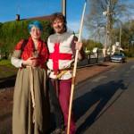 Wayne et Antonia - 600 ans de la bataille d'Azincourt 1415