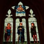 Vitraux de l'abbaye de Malmesbury - England