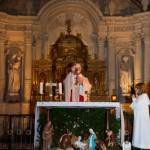 Eucharistie de la messe de minuit - Noel - Eglise St Michel - Fontevraud