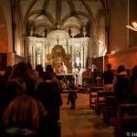 L'enfant a la messe de minuit - Noel - Eglise St Michel de  Fontevraud