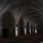 Le refectoire de l'Abbaye royale Fontevraud