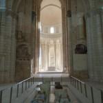 Nef de l'eglise - Abbaye royale Fontevraud