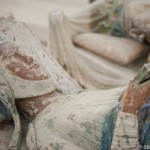 Gisants polychromes Alienor d'aquitaine et Henri II - Abbaye royale Fontevraud