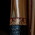Poignee de longbow stylisee - England