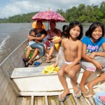En famille sur le Fleuve Oyapock - Guyane