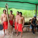 Deux generations wayampi - Guyane