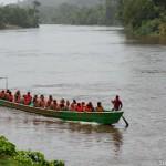 Pirogue d'ecole laique - Guyane